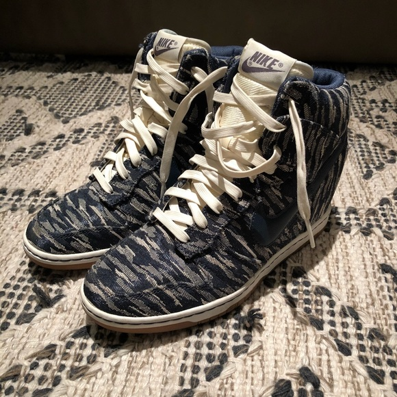 new styles 0b16a 7c04e Nike Dunk High Wedge Sneakers
